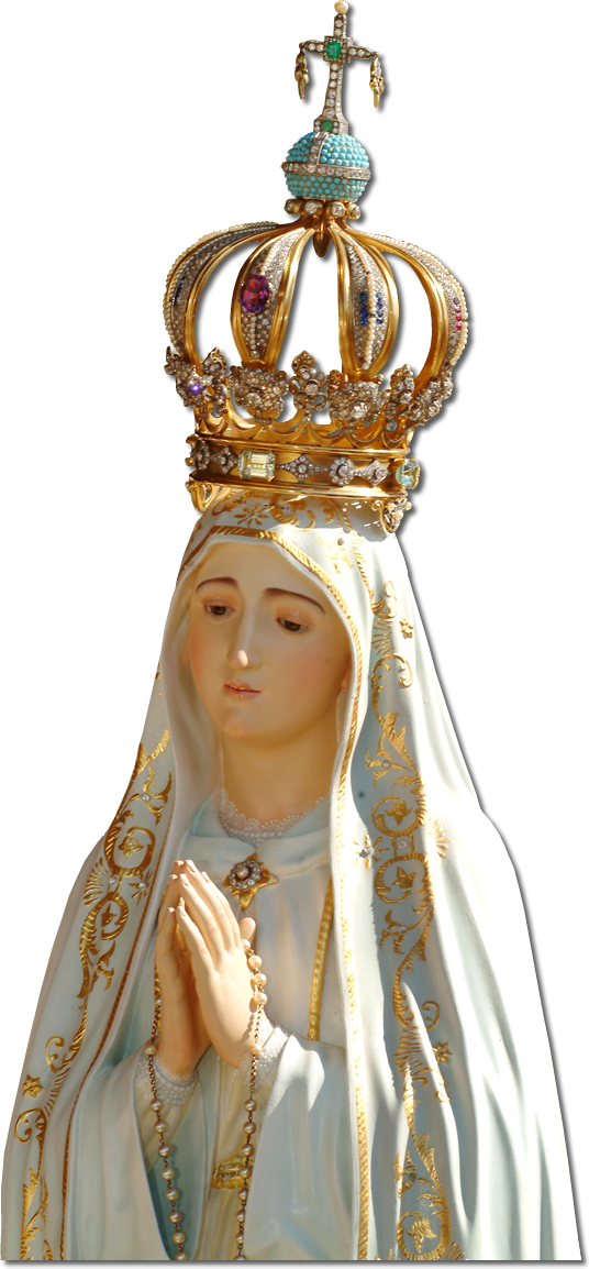 Hail, holy Queen, Mother of Mercy!